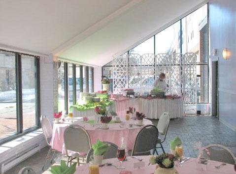 The Glass Room at Elegant Affairs